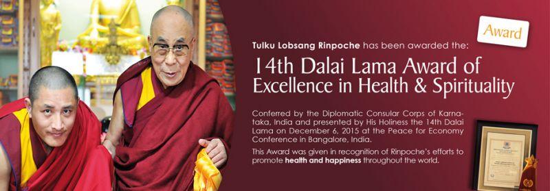 Tulku und der Dalai Lama